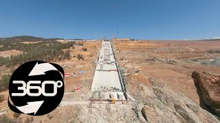 Oroville Spillway 360 Flyover August 30, 2018