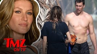 Tom Brady & Gisele Look INCREDIBLE On The Beach | TMZ TV