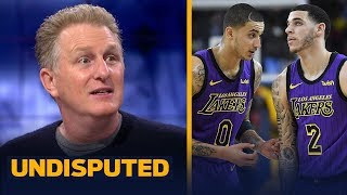Michael Rapaport credits Lakers' Christmas win to 'scrappy, tough' young players | NBA | UNDISPUTED