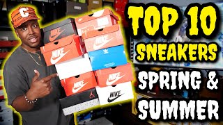 TOP 10 SNEAKERS FOR SPRING & SUMMER UNDER $200!