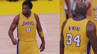NBA 2K16 PS4 Play Now - Shaq and Kobe 2001 Lakers!
