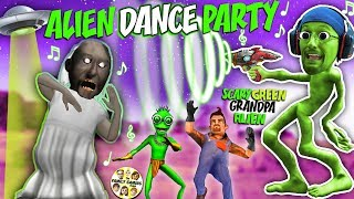 GRANNY HIDE n SEEK in GRANDPA's House w/ Alien Neighbors (FGTEEV Weird Funny Game)
