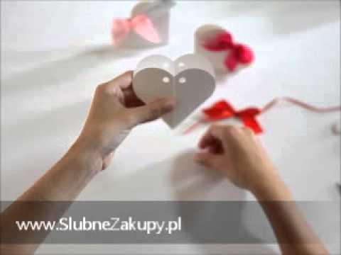 Jak zrobić pudełeczko w kształcie serca