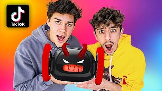 Testing VIRAL TikTok Gadgets ft. Noah Beck! (THEY WORKED)
