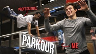 I TRIED PARKOUR FOR THE FIRST TIME   Parkour / Freerunning