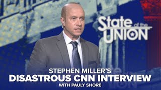 Stephen Miller Talks Steve Bannon In Disastrous CNN Interview (with Pauly Shore)