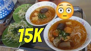 SĂN TÌM [TÔ BÚN RIÊU 15K] ÔTÔ DÀN HÀNG ĐỂ ĂN  Guide Saigon Food