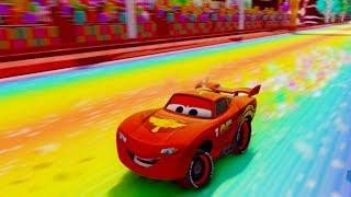 Lightning McQueen Races in Sugar Rush Disney Pixar's Cars 3