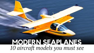 Top 10 Amphibious Aircraft and Private Seaplanes You Can Still Fly Today