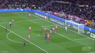 FC Barcelona - Atlético Madrid 4:1 (16.12.2012) - Full highlights
