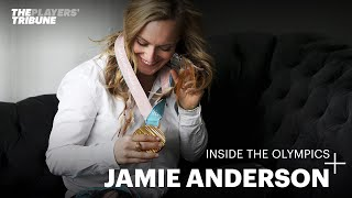 Jamie Anderson at the Winter Olympics