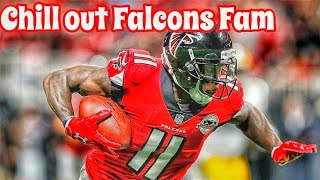 Atlanta Falcons Julio Jones - Falcons Fans Still Aren't Satisfied