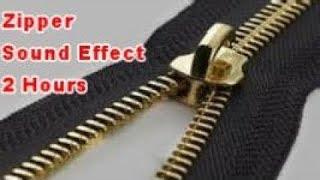{ASMR} 2 Hours of Zipper Zipping Sounds Noises | Film & Sound Effects No Copyright