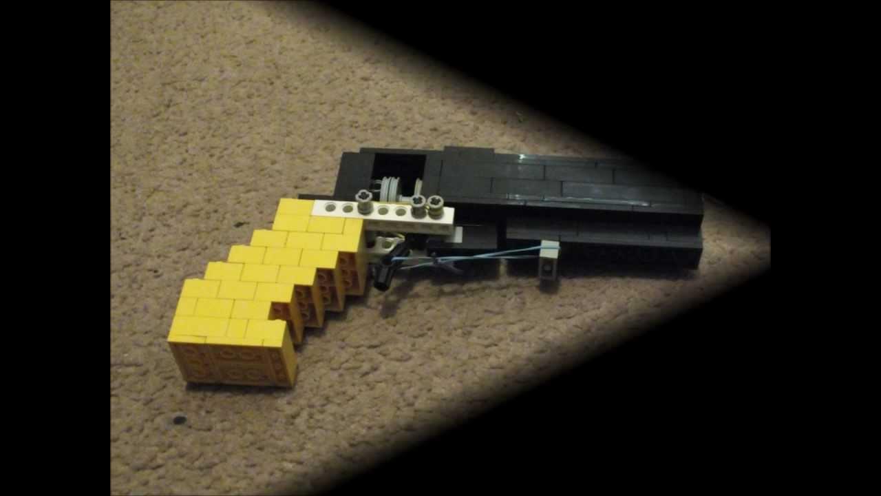 Lego Revolver That Shoots Legos Youtube