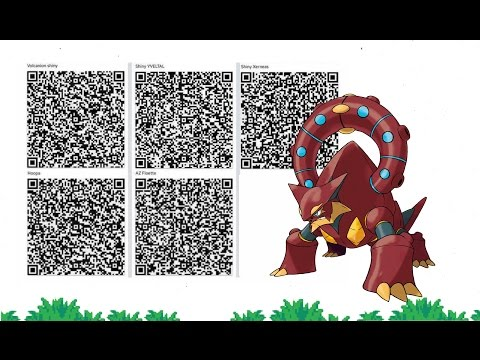 How to Get Any Pokemon you Want using QR Codes! GEN 6 (No