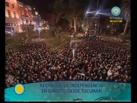 Recital de la Independencia 09-07-10 (1 de 3) El Chaqueño Palavecino