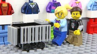 Lego Shopping Fail - Unlucky Lego Man