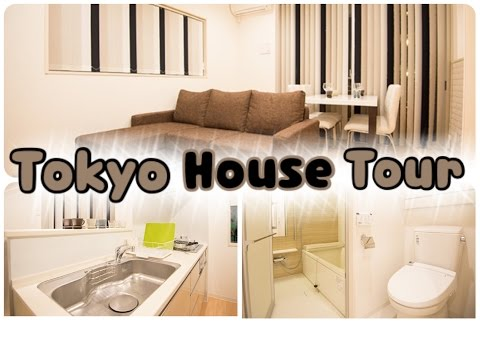 My TOKYO House Tour! (: