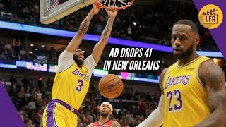 Anthony Davis Drops 41 in His Return to New Orleans