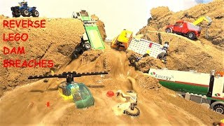NEW REVERSE LEGO DAM BREACHES!