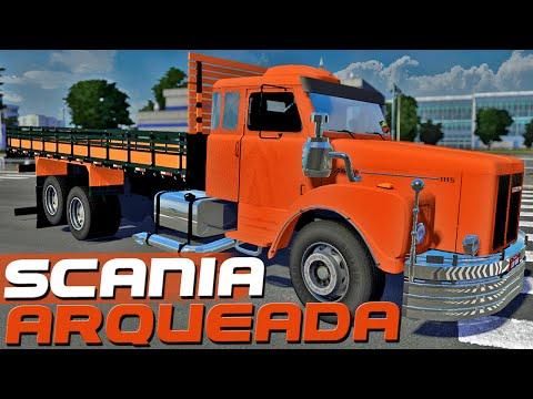 Scania Arqueada - Euro Truck Simulator 2