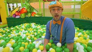 Learn Vegetables for Children with Blippi | Healthy Eating Videos for Kids - YouTube