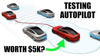 How Tesla's AutoPilot Works - Is It Worth $5,000?
