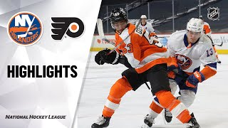 Islanders @ Flyers 1/30/21 | NHL Highlights