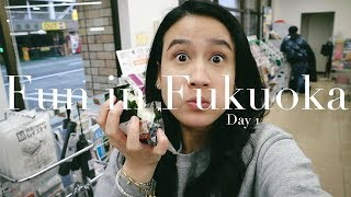 FREAKING OUT IN 7-ELEVEN! | Fukuoka Day 1 | Karla Aguas