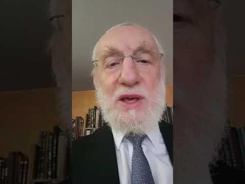 Message du Grand Rabbin de Paris Michel Gugenheim