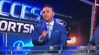 Jerry Hairston Jr Reaction to Braves Announcers Comments about Dodgers BP Attire