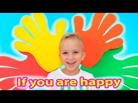 If You're Happy and You Know It   Kids Song from Vlad and Nikita