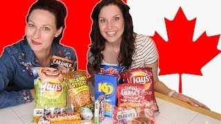 Americans Try Canadian Snacks