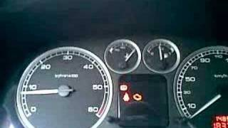 Peugeot 307 Engine Coolant Temp. Too High