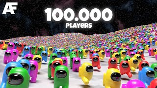 Among Us, but with 100.000 players