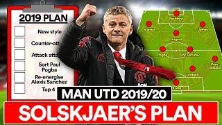 SOLSKJAER'S PLAN: MAN UTD'S 2019/20 SEASON