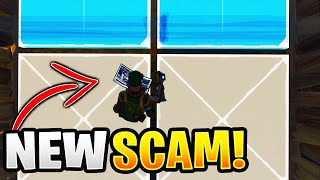 100% of Scammers Use This Scam! (Scammer Gets Scammed) Fortnite Save The World