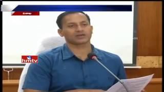Vizag Collector Praveen Kumar Speaks to Media over Graduat..