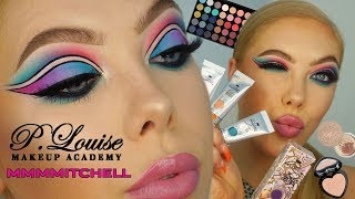 PLOUISE X MMMMITCHELL ACID REIGN EYE PAINTS - Review / Tutorial | Lsgmakeup