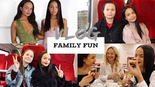 TRAVEL TO MUMS FOR THE WEEKEND AND PICKING OUR TWIN SISTERS UP! VLOG - AYSE AND ZELIHA