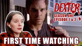 FIRST TIME WATCHING | Dexter Season 1 - Episodes 1 & 2 | TV Reaction | Killer With A Conscience