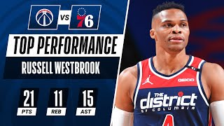 Triple-Double For Russell Westbrook In Wizards Debut! | #KiaTipOff20