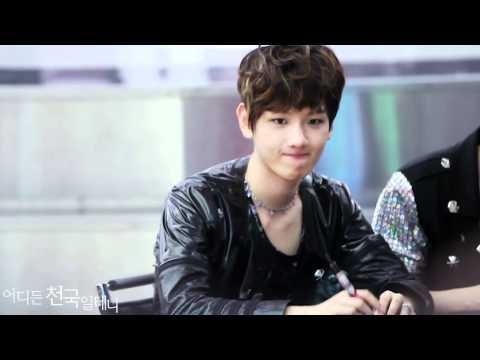 [HD]120525 EXO Yeongdeungpo fansign Baekhyun fancam^__^