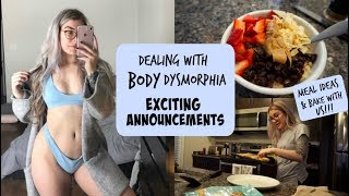 Dealing With Body Dysmorphia // Exciting Announcements & Bake With Us!!!