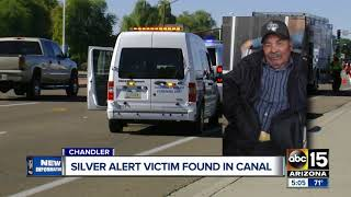 Silver Alert victim found in canal