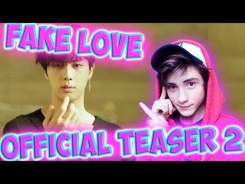 BTS (방탄소년단) 'FAKE LOVE' Official Teaser 2 Реакция   ibighit   Реакция на BTS FAKE LOVE