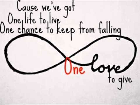 Alex Band - Only one with lyrics