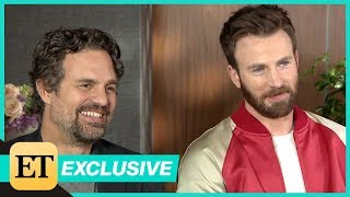 Avengers: Endgame: Mark Ruffalo and Chris Evans (FULL INTERVIEW)