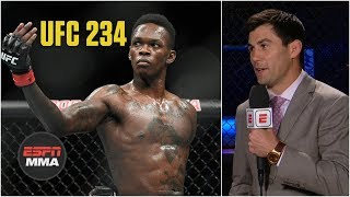 Should Israel Adesanya jump the line for a title shot? | UFC 234 | ESPN MMA