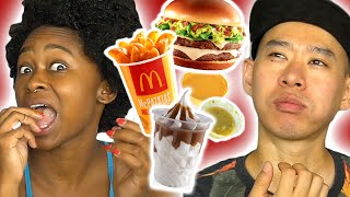 Americans Try Mexican McDonald's